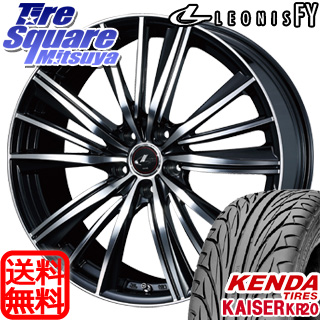KENDA ケンダ KAISER KR20 サマータイヤ 245/45R18WEDS ウェッズ Leonis レオニス FY ホイール 4本セット 18インチ 18 X 8 +42 5穴 114.3