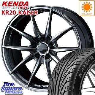 KENDA ケンダ KAISER KR20 サマータイヤ 245/35R20 WEDS WedsSport ウェッズ スポーツ FT-117 ホイールセット 4本 20インチ 20 X 8.5 +45 5穴 112
