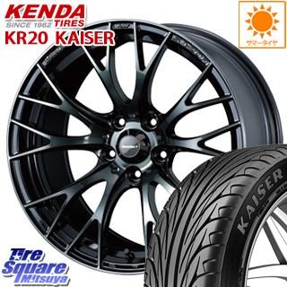 KENDA ケンダ KAISER KR20 限定 サマータイヤ 225/40R18 WEDS 72743 SA-20R ウェッズ スポーツ ホイールセット 18インチ 18 X 8.5J +45 5穴 100