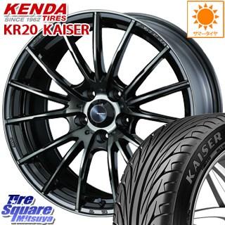 KENDA ケンダ KAISER KR20 限定 サマータイヤ 225/40R18 WEDS SA-35R ウェッズ スポーツ ホイールセット 18インチ 18 X 8.5J +45 5穴 100
