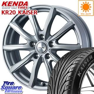 KENDA ケンダ KAISER KR20 限定 サマータイヤ 225/45R18 WEDS ジョーカーシェイク 平座仕様(トヨタ車専用) ホイールセット 4本 18インチ 18 X 7.5 +39 5穴 114.3