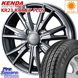 KENDA ケンダ KOMET PLUS KR23 サマータイヤ 185/60R15 WEDS 37563 ウェッズ ヴェルヴァ KEVIN(ケビン) ホイールセット 15インチ 15 X 5.5J +50 4穴 100