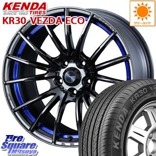 KENDA ケンダ VEZDA ECO KR30 サマータイヤ 225/40R18 WEDS SA-35R ウェッズ スポーツ ホイールセット 18インチ 18 X 7.5J +45 5穴 114.3