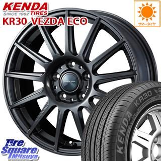 KENDA ケンダ VEZDA ECO KR30 サマータイヤ 225/50R17 WEDS ヴェルバ イゴール 平座仕様(トヨタ車専用) ホイールセット 4本 17インチ 17 X 7 +39 5穴 114.3