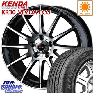 KENDA ケンダ VEZDA ECO KR30 サマータイヤ 225/50R17 WEDS ウェッズ TEAD TRICK テッドトリック ホイールセット 4本 17インチ 17 X 7 +40 5穴 114.3