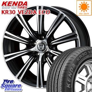 KENDA ケンダ VEZDA ECO KR30 サマータイヤ 245/40R18 WEDS ウェッズ RIZLEY ライツレー XS ホイールセット 4本 18インチ 18 X 8 +45 5穴 114.3