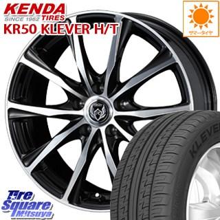 KENDA Klever H/T KR50 サマータイヤ 235/60R18 WEDS ウェッズ RIZLEY ライツレー ZM ホイールセット 4本 18インチ 18 X 7.5 +38 5穴 114.3