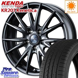 KENDA ケンダ KR-201 サマータイヤ 205/60R16 WEDS ウェッズ ヴェルヴァ SPORT(スポルト) ホイールセット 4本 16インチ 16 X 6.5 +53 5穴 114.3