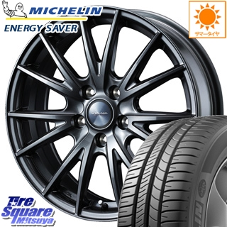 ミシュラン ENERGY SAVER ES2 エナジーセイバー 正規品 サマータイヤ 215/65R16 WEDS ウェッズ ヴェルヴァ SPORT(スポルト) ホイールセット 4本 16インチ 16 X 6.5 +53 5穴 114.3