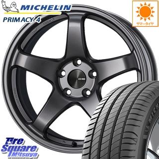 ミシュラン PRIMACY4 プライマシー4 ST 正規品 サマータイヤ 205/50R17 ENKEI エンケイ PerformanceLine PF05 ホイールセット 17インチ 17 X 7.5J +45 5穴 100