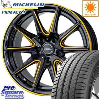 ミシュラン PRIMACY4 プライマシー4 正規品 サマータイヤ 215/45R18 HotStuff クロススピードプレミアム RS-10 軽量 4本 ホイールセット 18インチ 18 X 8 +42 5穴 114.3