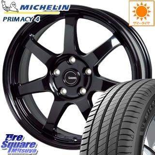 ミシュラン PRIMACY4 プライマシー4 ST 正規品 サマータイヤ 205/55R17 HotStuff G-SPEED G-03 G03 ブラック ホイールセット 17インチ 17 X 7.0J +55 5穴 114.3