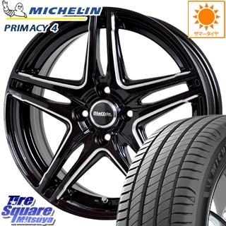 ミシュラン PRIMACY4 プライマシー4 市販品 正規品 サマータイヤ 195/65R16 HotStuff ラフィット LW-04 ホイールセット 16インチ 5月末迄特価 16 X 6.0J +45 4穴 100