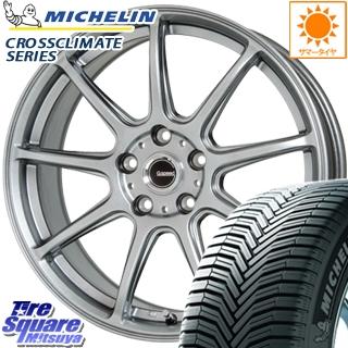 ミシュラン CROSSCLIMATE クロスクライメイト + 正規品 オールシーズンタイヤ 215/65R16 HotStuff G.speed G-01 ホイールセット 4本 16インチ 16 X 6.5 +48 5穴 114.3