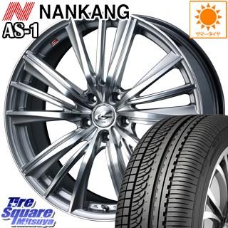 NANKANG TIRE ナンカン AS-1 サマータイヤ 215/45R18 WEDS ウェッズ Leonis レオニス FY ホイールセット 4本 18インチ 18 X 8 +42 5穴 114.3