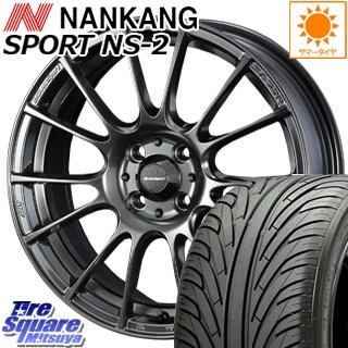 NANKANG TIRE ナンカン NS-2 サマータイヤ 225/40R18 WEDS WedsSport ウェッズ スポーツ SA-72R ホイールセット 4本 18インチ 18 X 7.5 +35 5穴 114.3