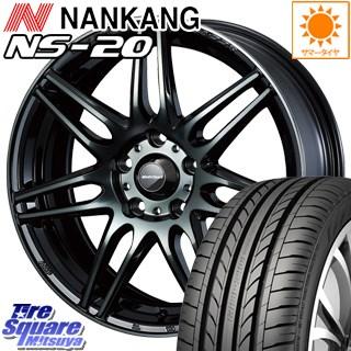NANKANG TIRE ナンカン NS-20 サマータイヤ 225/40R18 WEDS WedsSport ウェッズ スポーツ SA-77R ホイールセット 4本 18インチ 18 X 7.5 +35 5穴 114.3