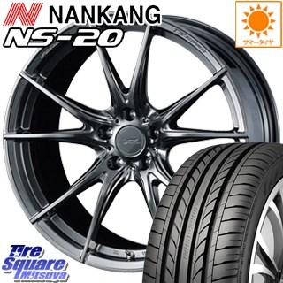 【3月10日限定Rカードde最大46倍!】 NANKANG TIRE ナンカン NS-20 サマータイヤ 215/40R18 WEDS F ZERO FZ-2 鍛造 FORGED ホイールセット 4本 18 X 7.5J +48 5穴 114.3
