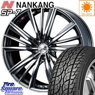 NANKANG TIRE ROLLNCX SP-7 サマータイヤ 225/60R17 WEDS ウェッズ Leonis レオニス FY ホイールセット 4本 17インチ 17 X 7 +47 5穴 114.3