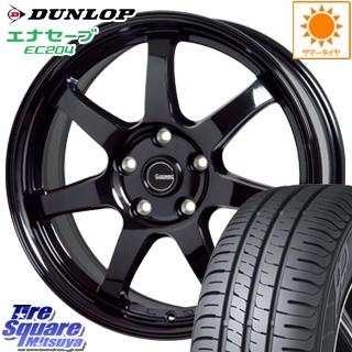 DUNLOP ダンロップ エナセーブ EC204 ENASAVE サマータイヤ 215/55R17 HotStuff G-SPEED G-03 ブラック ホイールセット 4本 17インチ 17 X 7 +48 5穴 114.3