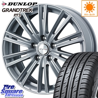 DUNLOP ダンロップ GRANDTREK PT3 グラントレック サマータイヤ 205/70R15 WEDS ジョーカーアイス ホイールセット 4本 15インチ 15 X 6 +53 5穴 114.3