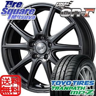 TOYOTIRES トーヨー トランパス MPZ ミニバン TRANPATH サマータイヤ 215/65R16 MANARAY Final Speed GR-ガンマ ホイールセット 4本 16インチ 16 X 6.5 +48 5穴 114.3
