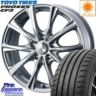 TOYOTIRES トーヨー プロクセス CF2 PROXES サマータイヤ 215/50R17 WEDS 36780 ジョーカーマジック ホイールセット 17インチ 17 X 7.0J +48 5穴 114.3