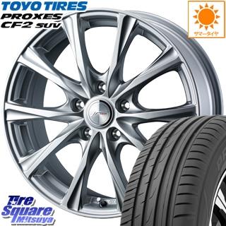 TOYOTIRES トーヨー プロクセス CF2 SUV PROXES サマータイヤ 225/55R17 WEDS 36780 ジョーカーマジック ホイールセット 17インチ 17 X 7.0J +48 5穴 114.3