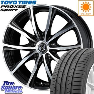 TOYOTIRES トーヨー プロクセス スポーツ PROXES Sport サマータイヤ 215/40R18 WEDS 37475 ウェッズ RIZLEY ライツレー ZM ホイールセット 4本 18インチ 18 X 7.5 +38 5穴 114.3