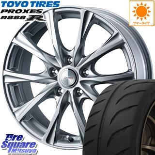TOYOTIRES トーヨー プロクセス R888R PROXES サマータイヤ 205/50R16 WEDS ジョーカーマジック ホイールセット 4本 16インチ 16 X 6.5 +53 5穴 114.3