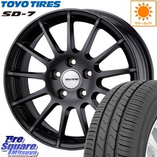 TOYOTIRES トーヨー タイヤ SD-7 サマータイヤ 195/65R15 WEDS ウェッズ IRVINE ホイールセット 4本 15インチ 15 X 6(B60) +44 5穴 108