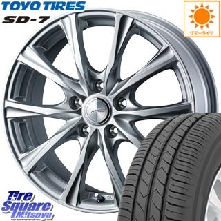 TOYOTIRES トーヨー タイヤ SD-7 サマータイヤ 225/55R17 WEDS 36779 ジョーカーマジック ホイールセット 17インチ 17 X 7.0J +50 5穴 100
