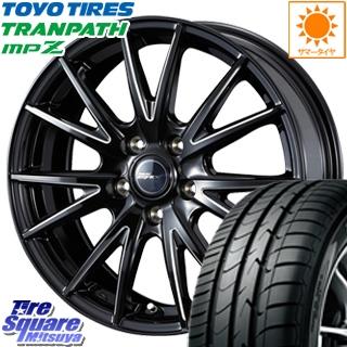 TOYOTIRES トーヨー トランパス MPZ ミニバン TRANPATH サマータイヤ 205/60R16 WEDS ウェッズ RIZLEY ライツレー ZEFICE X ホイールセット 4本 16インチ 16 X 6.5 +47 5穴 114.3