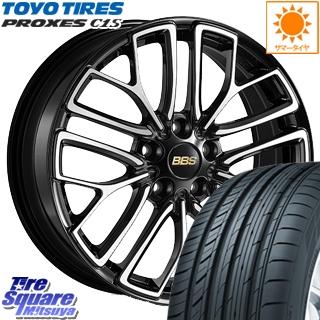 TOYOTIRES トーヨー プロクセス C1S PROXES サマータイヤ 225/40R18 BBS RE-X 鍛造1ピース ホイールセット 4本 18インチ 18 X 8.5 +42 5穴 114.3