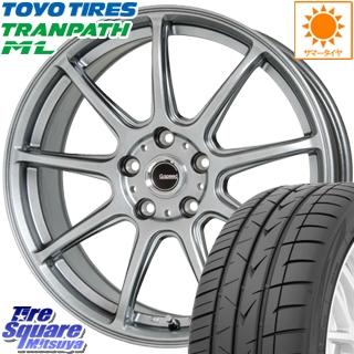 TOYOTIRES トーヨー トランパス ML ミニバン TRANPATH サマータイヤ 225/40R18 HotStuff G.speed G-01 ホイールセット 4本 18インチ 18 X 7.5 +38 5穴 114.3