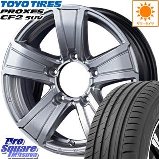 TOYOTIRES トーヨー プロクセス CF2 SUV PROXES サマータイヤ 175/80R16 MANARAY Road Max MUD RANGER ホイールセット 16インチ 16 X 5.5J +22 5穴 139.7