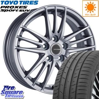 TOYOTIRES トーヨー プロクセス スポーツ PROXES Sport SUV サマータイヤ 235/65R17 ブリヂストン ECO FORME SE-18 ホイールセット 4本 17 X 7 +53 5穴 114.3