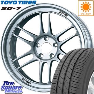 TOYOTIRES 【7月発売】トーヨー タイヤ SD-7 サマータイヤ 235/40R18 ENKEI エンケイ Racing RPF1 ホイールセット 18 X 8.5J +40 5穴 114.3