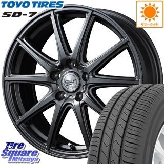 TOYOTIRES 【5月発売】トーヨー タイヤ SD-7 サマータイヤ 205/45R17 MANARAY Final Speed GR-ガンマ ホイールセット 17インチ 17 X 7.0J +55 5穴 114.3