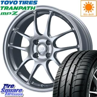 TOYOTIRES トーヨー トランパス MPZ ミニバン TRANPATH サマータイヤ 185/55R15 ENKEI PerformanceLine PF01 ホイールセット 4本 15 X 6.5 +45 4穴 100