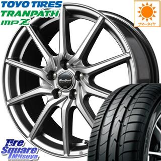 TOYOTIRES トーヨー トランパス MPZ ミニバン TRANPATH サマータイヤ 215/65R16 MANARAY Euro Speed G810 ホイールセット 4本 16インチ 16 X 6.5 +50 5穴 100
