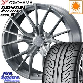 YOKOHAMA ヨコハマ アドバン ネオバ AD08R NEOVA サマータイヤ 215/45R18 WEDS F ZERO FZ-1 鍛造 FORGED ホイールセット 4本 18 X 7.5 +38 5穴 114.3
