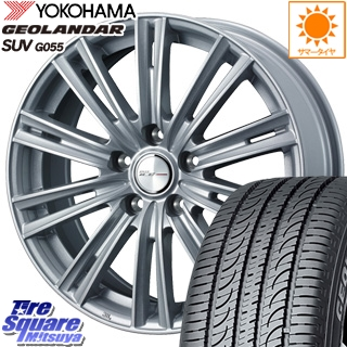 YOKOHAMA ヨコハマ ジオランダー SUV G055 サマータイヤ 235/70R16 WEDS ジョーカーアイス ホイールセット 4本 16インチ 16 X 6.5 +38 5穴 114.3