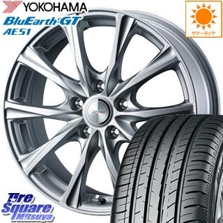 YOKOHAMA ヨコハマ BluEarth-GT AE51 ブルーアース サマータイヤ 195/55R16 WEDS 36777 ジョーカーマジック ホイールセット 4本 16インチ 16 X 6.5J +53 5穴 114.3