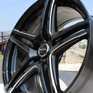 KENDA ケンダ KR-201 サマータイヤ 215/55R18 HotStuff Laffite ラフィット LW-04 4本 ホイールセット 18インチ 18 X 7 +48 5穴 114.3