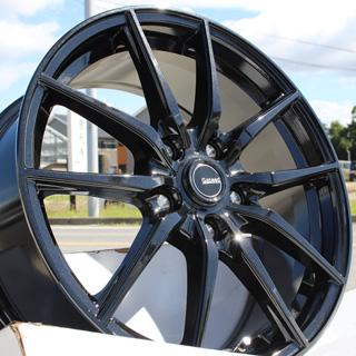 TOYO スタッドレスタイヤ トーヨー GARIT ガリット G5 2018年製 スタッドレス 195/55R16 HotStuff G.speed G-02 ブラック ホイールセット 4本 16インチ 16 X 6.5 +48 5穴 114.3