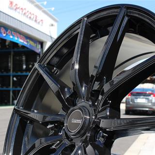 コンチネンタル UltraContact  UC6 For SUV 225/60R17 HotStuff G.speed G-02 ブラック ホイールセット 4本 17インチ 17 X 7 +38 5穴 114.3