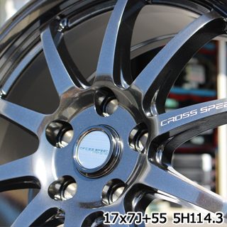 YOKOHAMA ADVAN FLEVA V701 アドバン フレバ サマータイヤ 215/40R18 HotStuff CROSS SPEED HYPER EDITION CR10 軽量 4本 ホイールセット 18インチ 18 X 7.5 +48 5穴 114.3