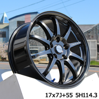 【8/5はお盆明け出荷セール】 NX HotStuff クロススピード CR10 CR-10 軽量 ホイールセット 18インチ 18 X 8.5J +38 5穴 114.3ミシュラン LATITUDE Tour HP 正規品 サマータイヤ 235/55R18