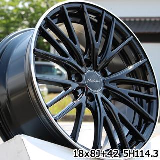 ミシュラン パイロットスポーツ4 SUV PILOT SPORT4 SUV 正規品 サマータイヤ 225/65R17 HotStuff Precious AST M1 プレシャス アスト ホイールセット 4本 17インチ 17 X 7 +48 5穴 114.3